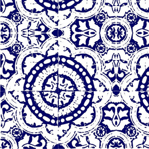 mexican block print