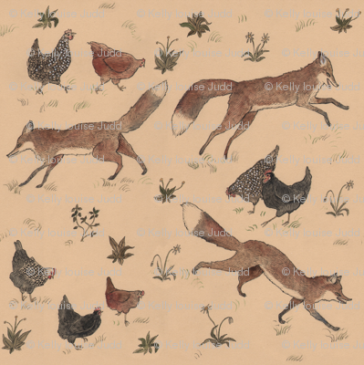 Hens and Foxes