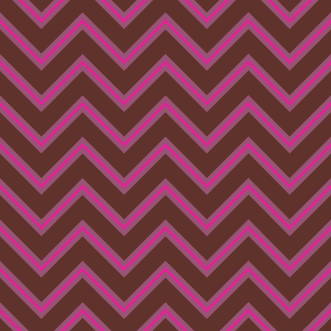 Mulberry Chevron fabric by brainsarepretty on Spoonflower - custom fabric