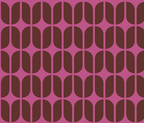 Mod Mulberry fabric by brainsarepretty on Spoonflower - custom fabric
