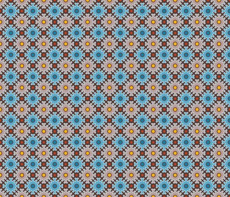 Rrbold_marigolds_cocoa_blue_shop_preview