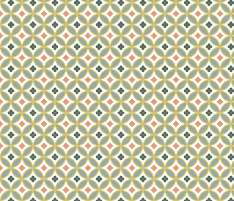 mexican_mod_tile-new-mini fabric by marcador on Spoonflower - custom fabric