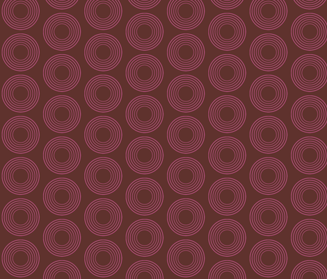 Mulberry Circles fabric by brainsarepretty on Spoonflower - custom fabric