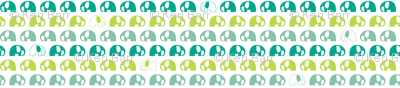 elephants_6cm_3row_blue-green-blue
