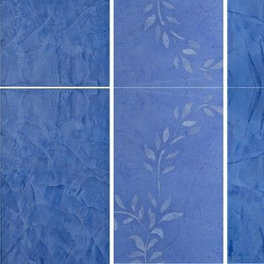 Blue Marble Vine 3 Panel