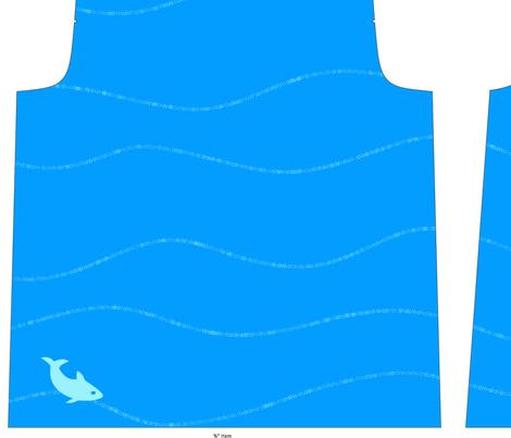 World of Blue fabric by kamilindoto on Spoonflower - custom fabric