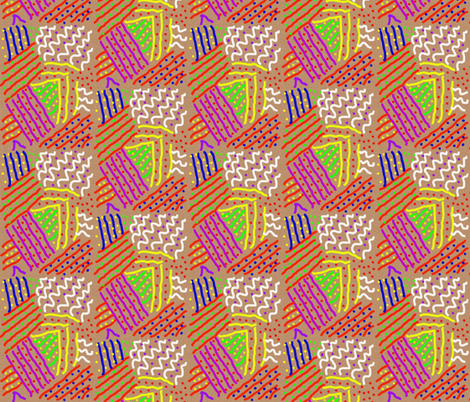 Flyover States fabric by anniedeb on Spoonflower - custom fabric