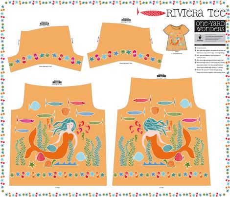 I Dream of Mermaids  fabric by vo_aka_virginiao on Spoonflower - custom fabric