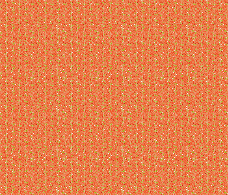 Berrylicious-LtRed-LtLeaves fabric by groovity on Spoonflower - custom fabric
