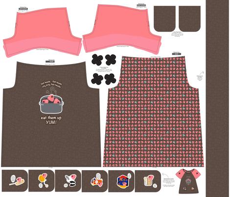 FishHeads fabric by ghennah on Spoonflower - custom fabric