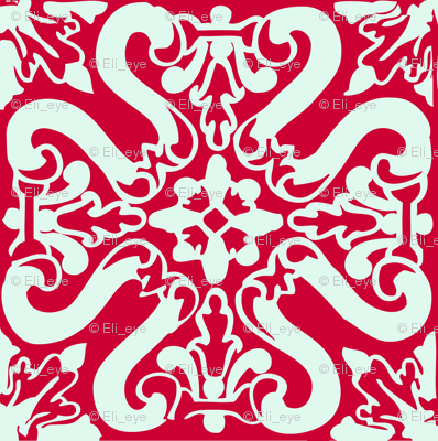 Rtile_s_shape_red_and_mint_preview