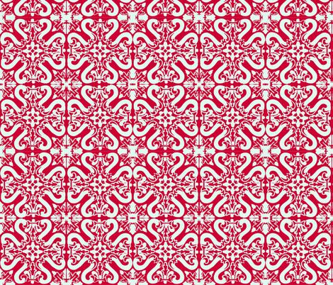 Red Mint Wrap fabric by eli_eye on Spoonflower - custom fabric