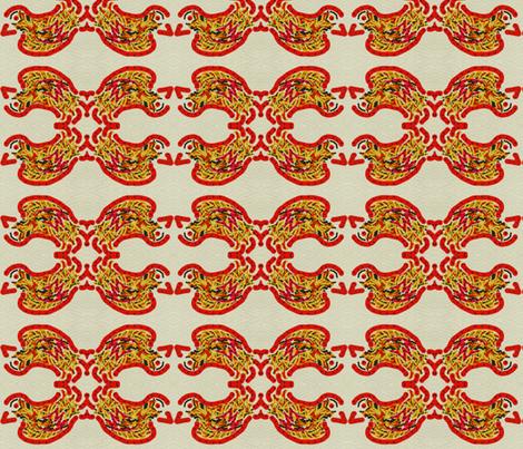 Rocking Birdie fabric by anniedeb on Spoonflower - custom fabric