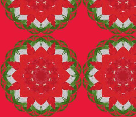 Kaleidoscope Krazy For Christmas fabric by fayebeasintx on Spoonflower - custom fabric