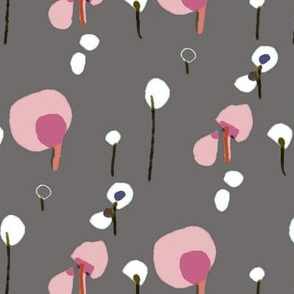 soft and strokable cotton flowers