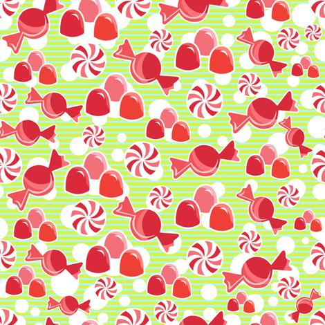 Gumdrop Dreams fabric by kfay on Spoonflower - custom fabric
