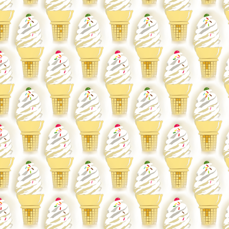 Soft ice  fabric by alfabesi on Spoonflower - custom fabric