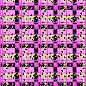 Tartan of the Plant Monster Neon