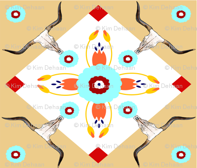 Sacred_Long_Horn_Fabric