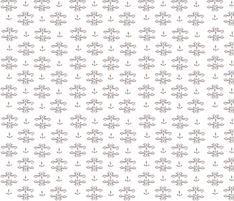 anchor repeat fabric by lumber on Spoonflower - custom fabric