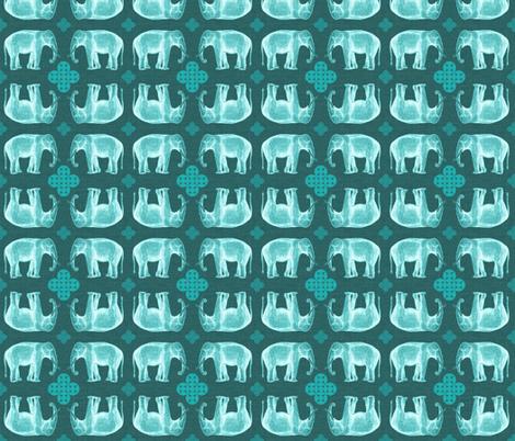elefante2-linen fabric by marcador on Spoonflower - custom fabric
