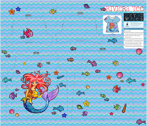 Happy under the sea fabric by loeff on Spoonflower - custom fabric