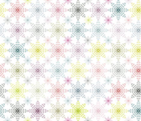 Sweet_and_Romantic_Snowflakes fabric by bethanialimadesigns on Spoonflower - custom fabric