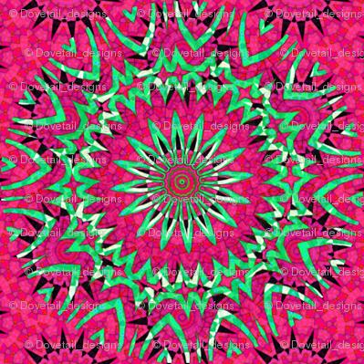Modern  Snowflakes 10 - Think Pink!