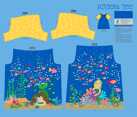 Under the Sea fabric by beebumble on Spoonflower - custom fabric