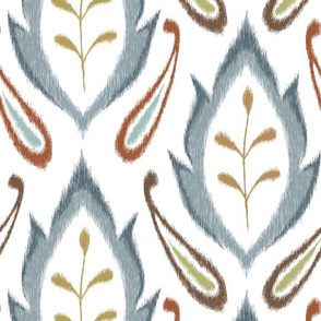 Autumn Ikat