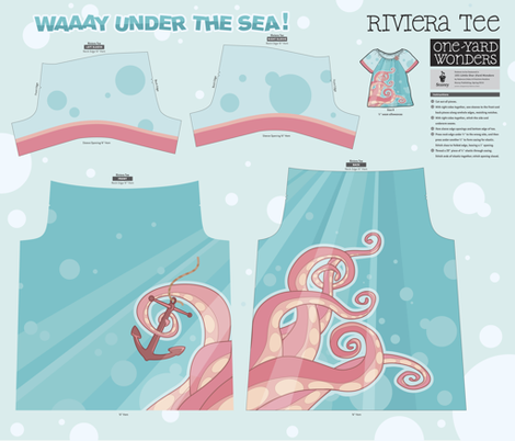 Waaay under the sea! fabric by theboerwar on Spoonflower - custom fabric