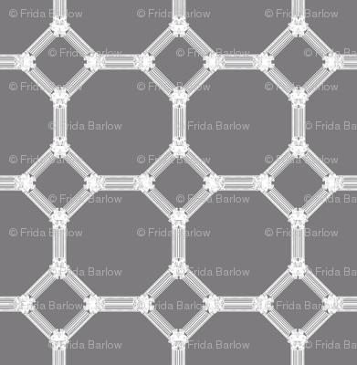 Mosaic Regency in Steel Gray