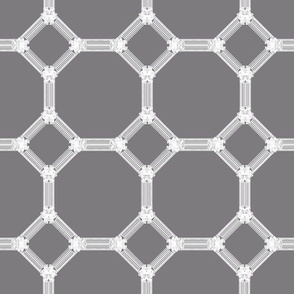 Mosaic Regency in Steel Gray