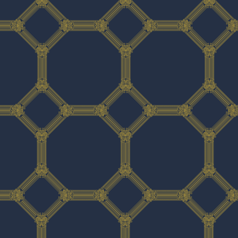 Mosaic_Moroccan fabric by pearl&phire on Spoonflower - custom fabric