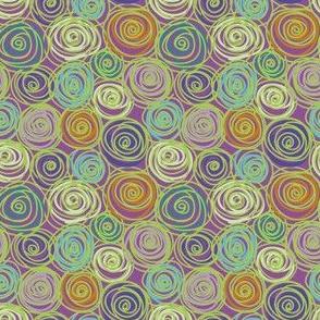 Jardin Loco-Multi Swirls