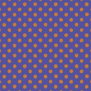 Jardin Loco-Dotty-Orange on Royal
