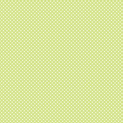 kanoko mini in peridot fabric by chantae on Spoonflower - custom fabric