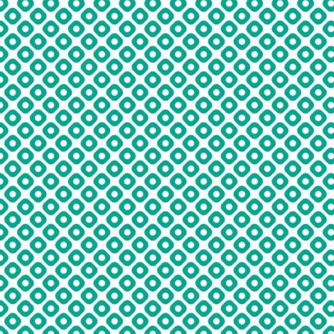 kanoko in emerald fabric by chantae on Spoonflower - custom fabric