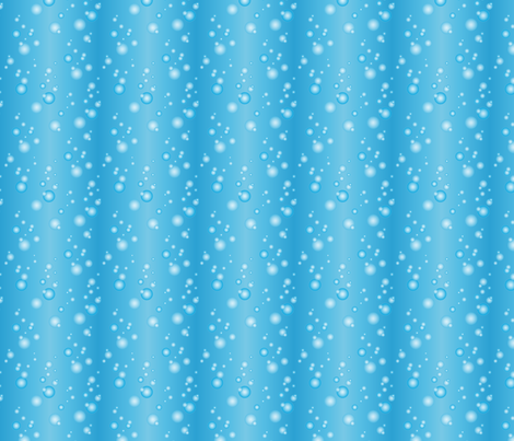Bubbly-blue fabric by jjtrends on Spoonflower - custom fabric