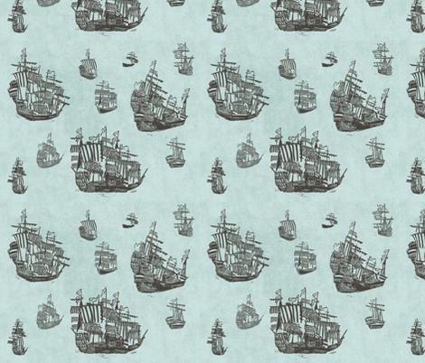 The big journey fabric by loeff on Spoonflower - custom fabric