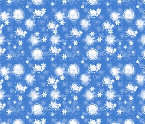 SNOW! fabric by mammajamma on Spoonflower - custom fabric