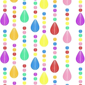 Candy Rain white background medium