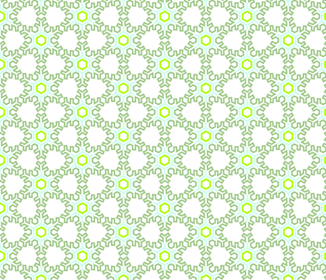 sNowflake fabric by meli_lees on Spoonflower - custom fabric
