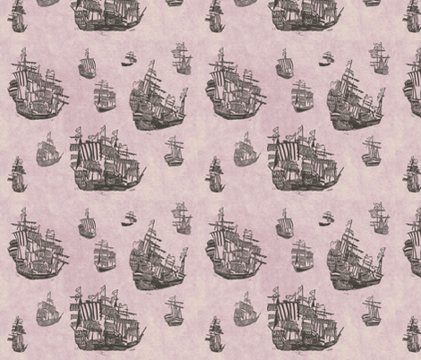 The long journey fabric by loeff on Spoonflower - custom fabric