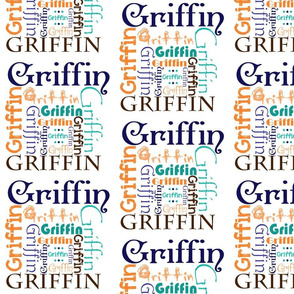 Griffin Name Fabric
