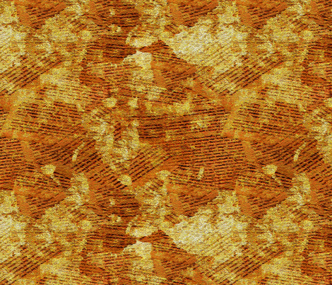 Text on a Gourd fabric by anniedeb on Spoonflower - custom fabric
