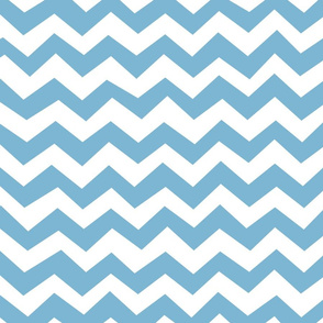 Chevron Dusk Blue