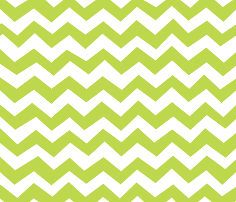 Chevron Tender Shoots Green fabric by friztin on Spoonflower - custom fabric