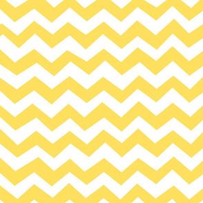 Chevron Lemon Zest Yellow
