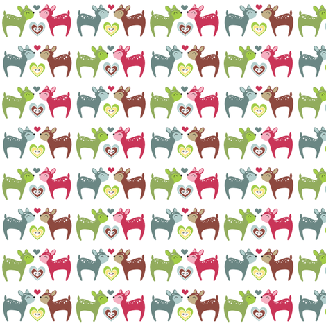 My Deer Trim fabric by m0dm0m on Spoonflower - custom fabric